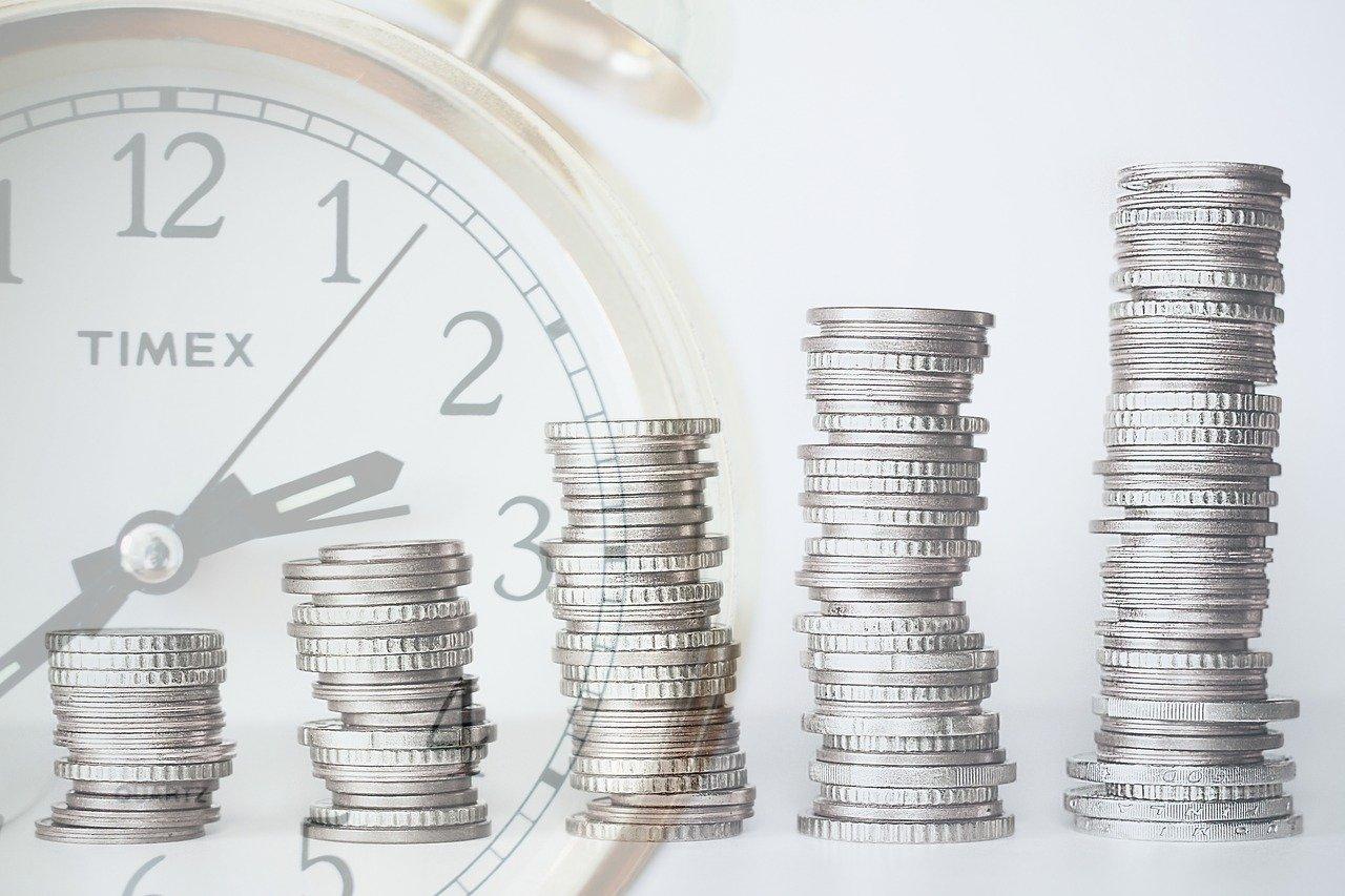 時とお金のイメージ