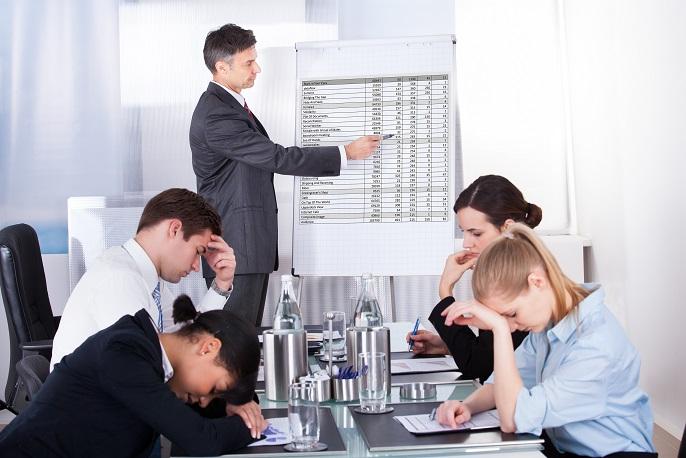 退屈な会議
