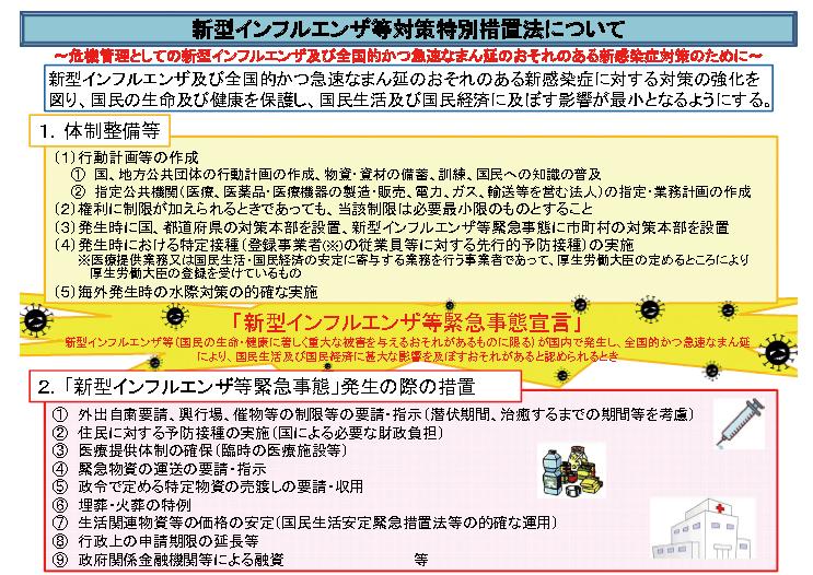 内閣府インフルエンザ資料